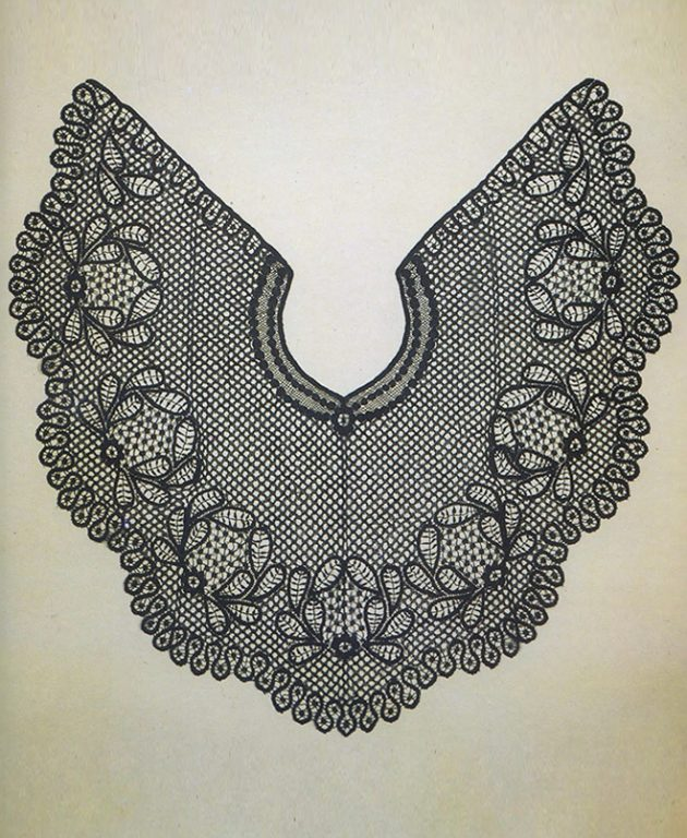 Pelerine. <br/>Second half of 19th century