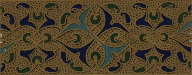 Эмалевое украшение оклада икон иконостаса. <br/>16 век