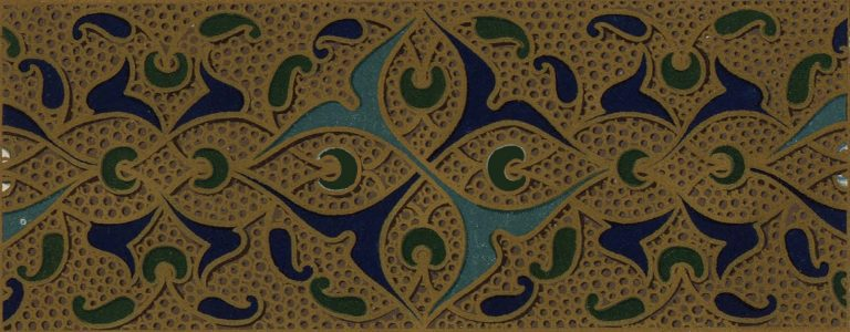Enamel riza decoration of iconostasis . <br/>16th century