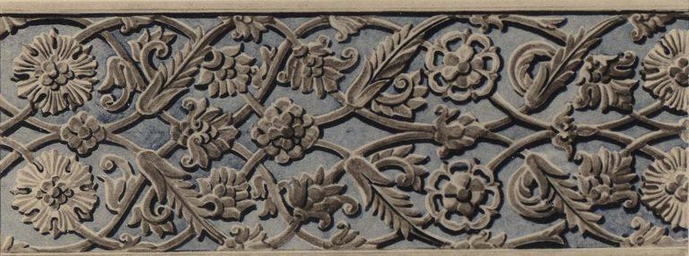Резной по камню орнамент наличников. <br/>17 век