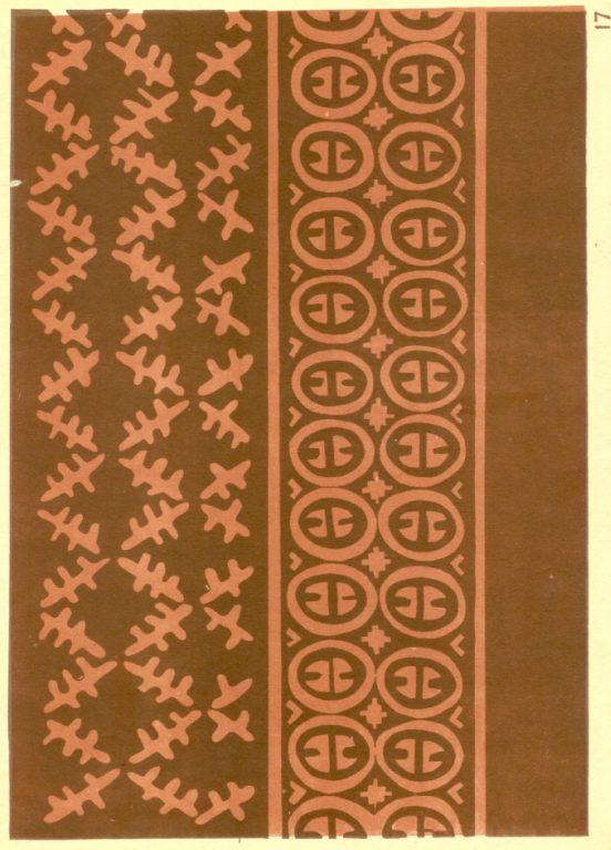 Кошелка. Орнамент вырезан ножом на подкрашенной бересте. <br/>1920-1930 годы