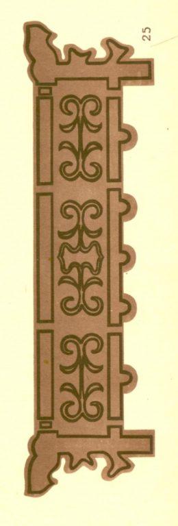 Деревянная кровать. 1920-1930 годы