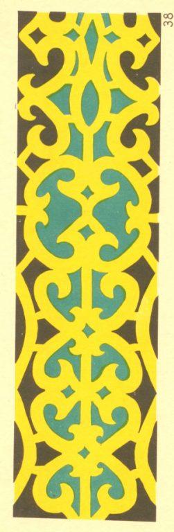 Орнамент для костюмов, дорожек, полотенец. <br/>1920-1930 годы