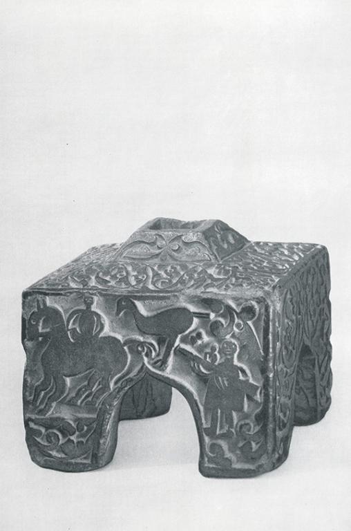 Подставка прялки. <br/>Конец 19 века