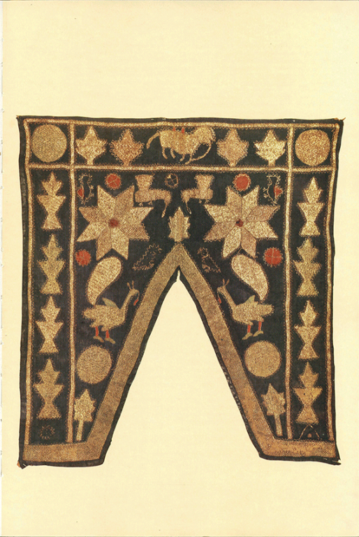 Niche curtain. Second half 19th century