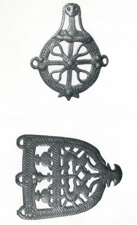Belt buckles. <br/>2-1 thousand years BC