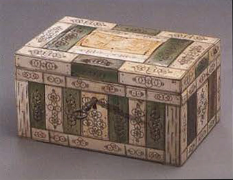 Jewelry box. <br/>1730 years