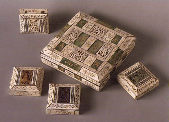 Шкатулка для карточных фишек. 1730-1750-е годы