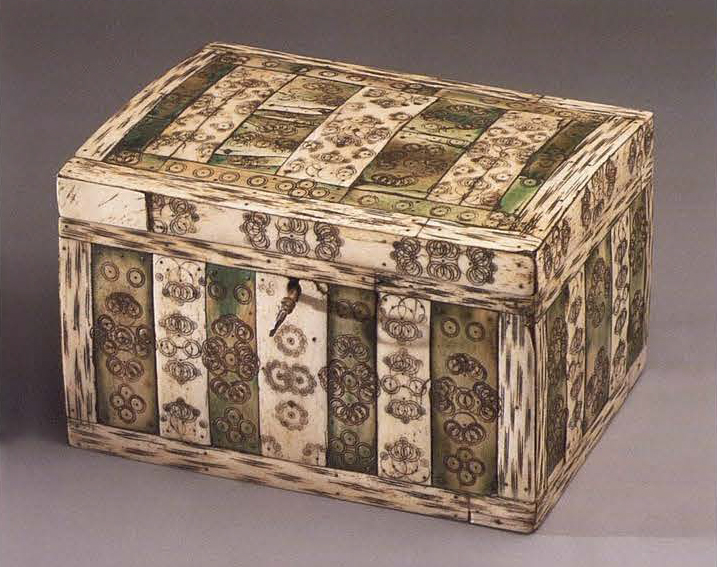 Jewelry box. 1st half of the 18th century