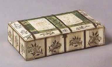 Small box. <br/>1st half of the 18th century