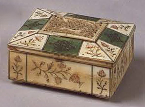 Small box. 1st half of the 18th century