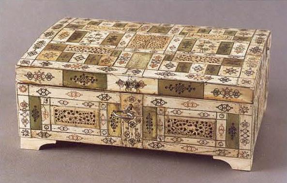 Шкатулка. Первая половина 18 века