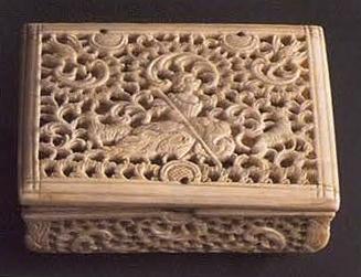 Small box. <br/>Мid  18th century