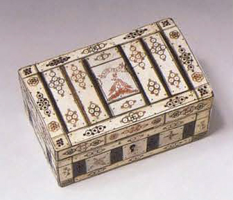 Jewelry box. <br/>1750 - 1770 years