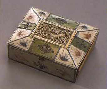 Small box. <br/>1750 - 1770 years