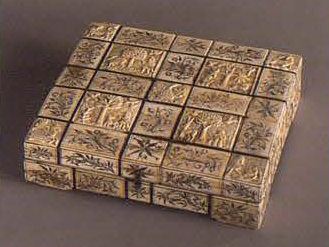 Small box. 1750 - 1770 years