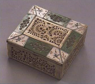 Small box. <br/>1750 - 1780 years