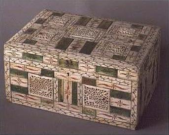 Шкатулка. 1750-1770-е годы