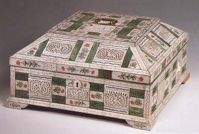 Casket. <br/>1750 - 1770 years