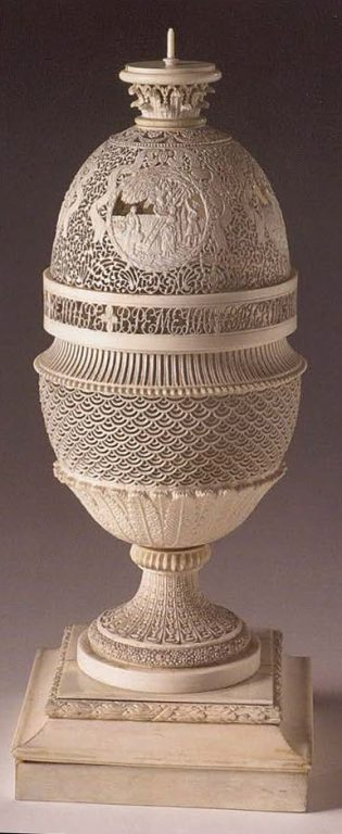 Vase. <br/>Second half of the 18th century