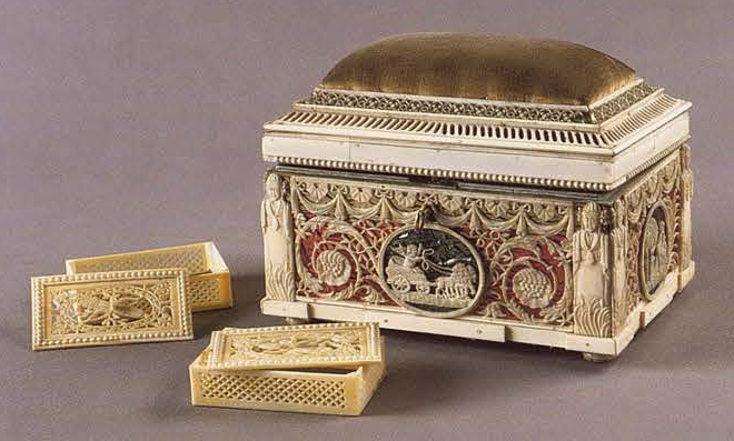 Jewelry box. <br/>Late 18th century