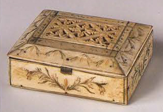 Small box. Late 18th century