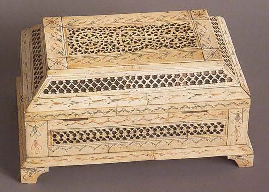 Casket. <br/>Late 18th century