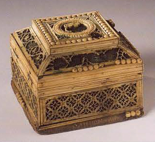 Small casket. <br/>Late 18th - early 19th century