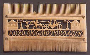 Comb. <br/>1st half of the 19th century