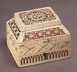 Casket. <br/>1st half of the 19th century