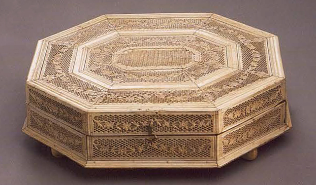 Jewelry-box. <br/>1st half of the 19th century