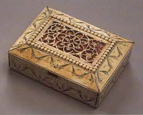 Small box. <br/>1st half of the 19th century