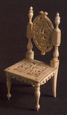 Chair.  19th century