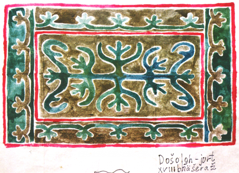 Ingush ornament. <br/>18th century