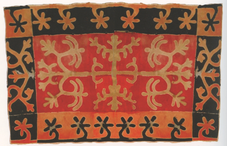 Akhriyev family felt carpet. 19th century