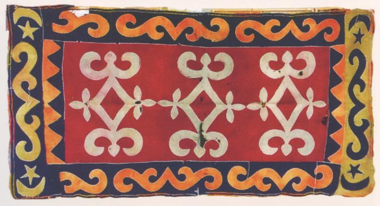 Войлочный ковер семьи Ахриевых