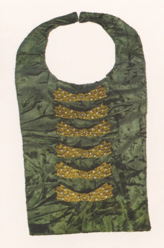Women's chestplate. 19th century