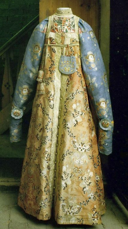 Festive women's folk costume. <br/>Late 18th - early 19th century