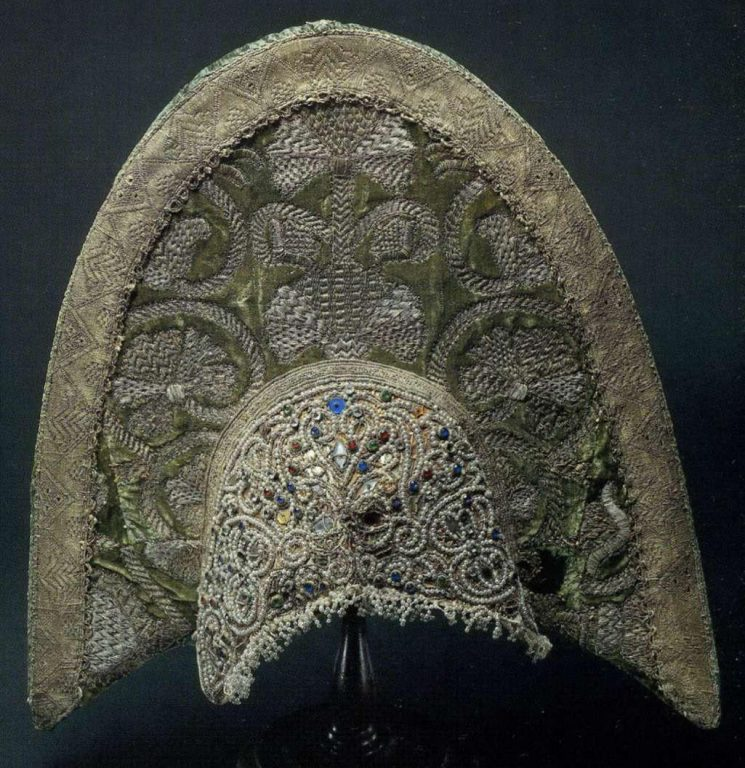 Kokoshnik. <br/>Late 18th century