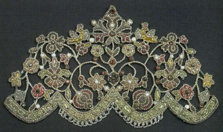 Ochelie (women's head piece). <br/>Late 18th - еarly 19th century
