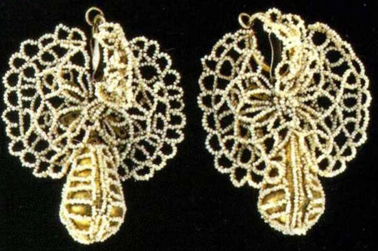 Earrings. <br/>Late 18th - еarly 19th century