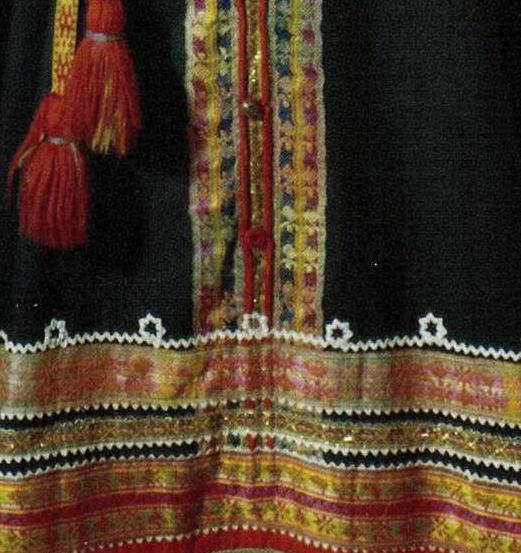 Фрагмент сарафана. <br/>Конец 19 века