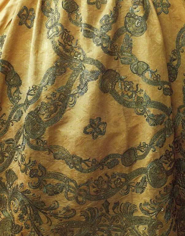 Dress of Elizabeth, the Empress of Russia. <br/>1750 years