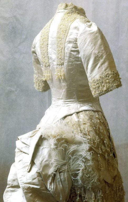 Dress of the empress Maria Feodorovna. <br/>1880-1893 years