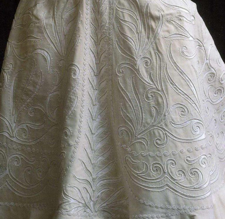 """Нарядная женская накидка - """"сорти де баль"""". <br/>1900 годы"""