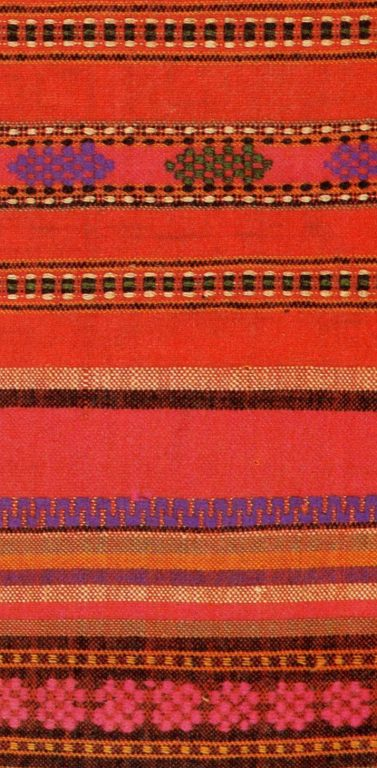 Surpan headband embroidery of the lower and mid-lower Chuvash. Early 20th century
