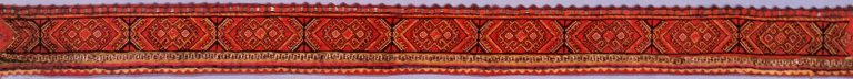 Women's headband of the upper Chuvash. <br/>19th century