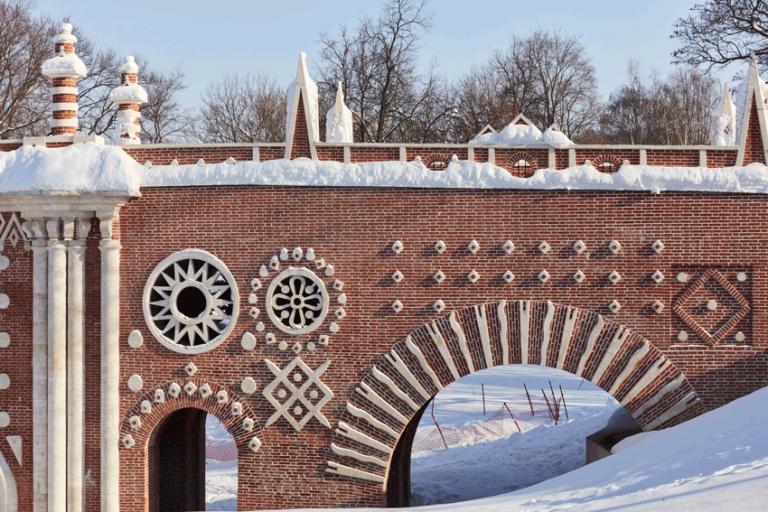 Большой мост через овраг. Фрагмент. <br/>1778-1779, 1784-1785, 1808 годы