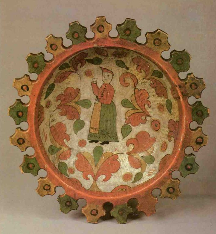 Dish. <br/>Second half of the 19th century