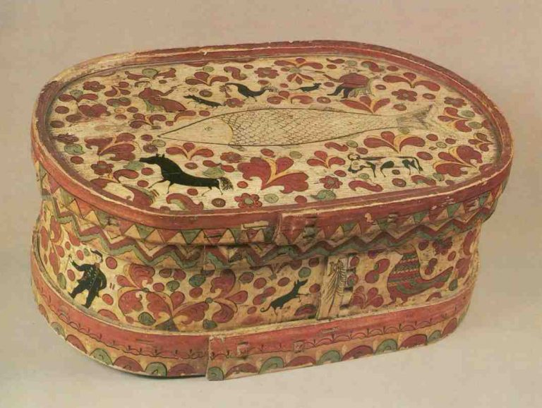 Bread box. <br/>Second half of the 19th century